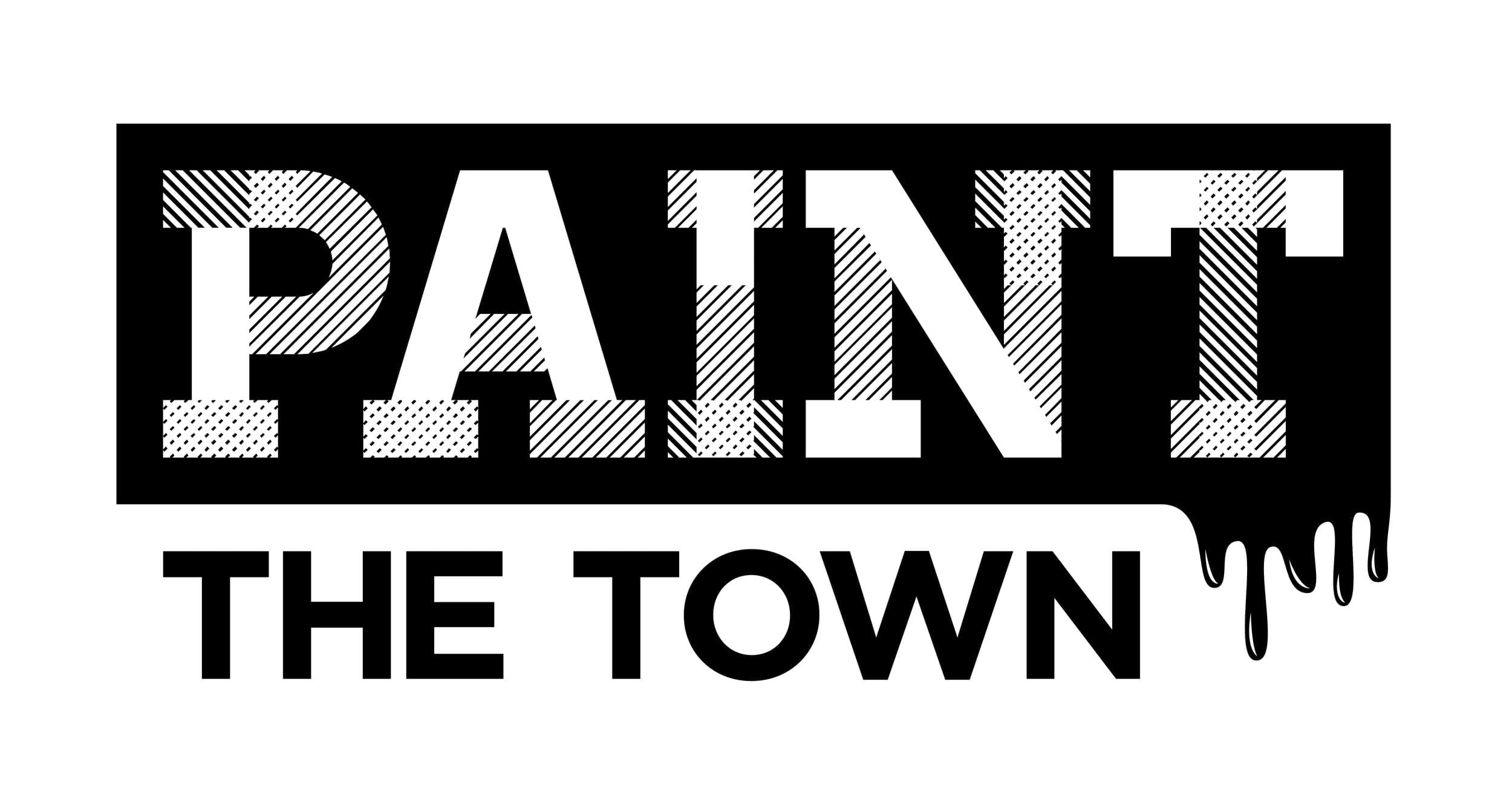 logo for the even paint the town