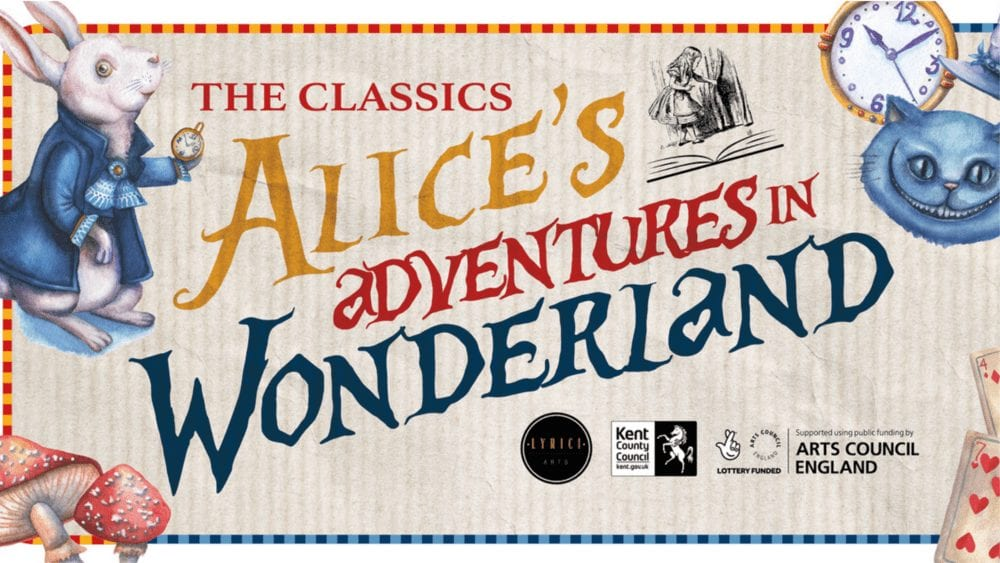 A poster for Alice's Adventures in Wonderland