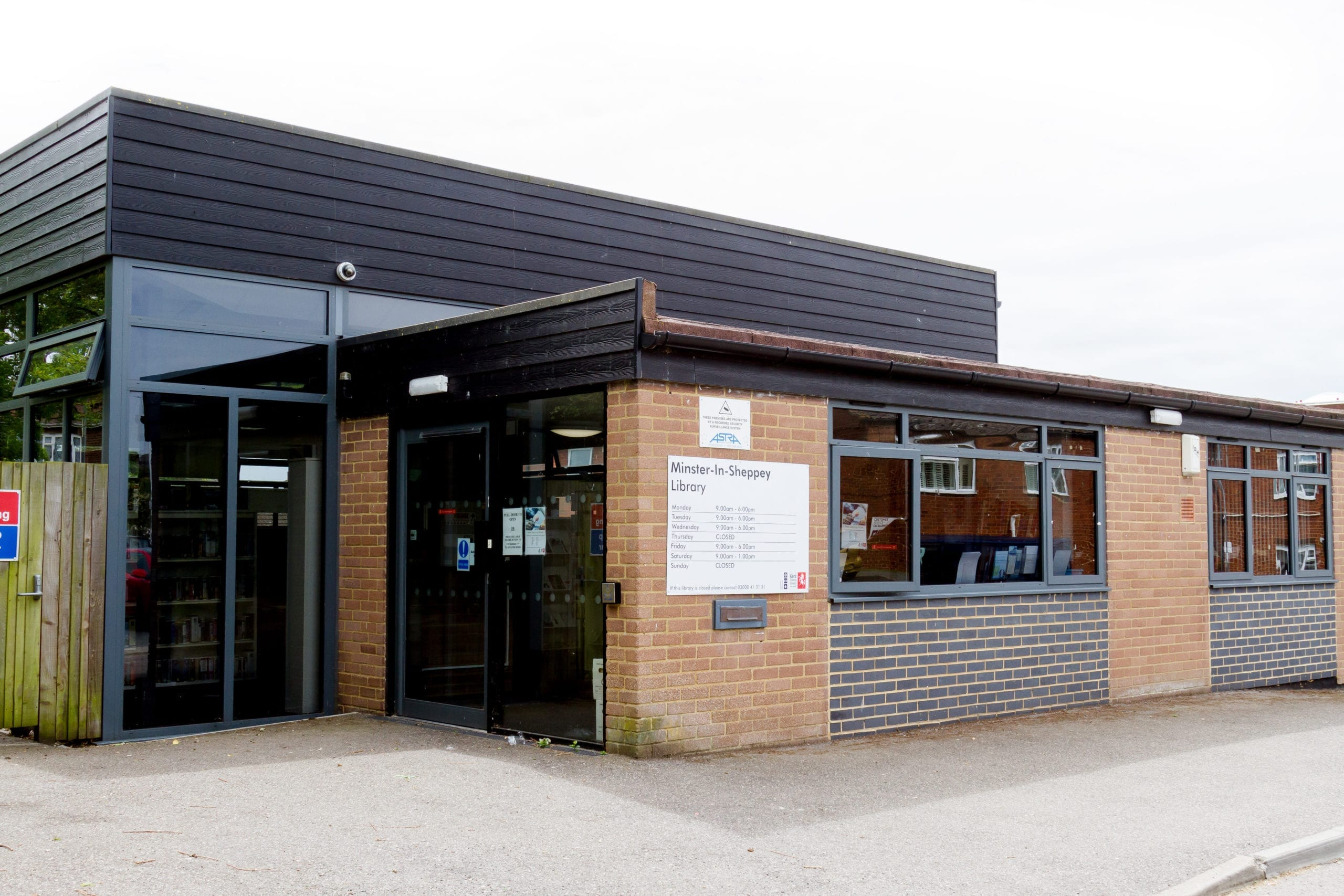 A photo of Minster-In-Sheppey library