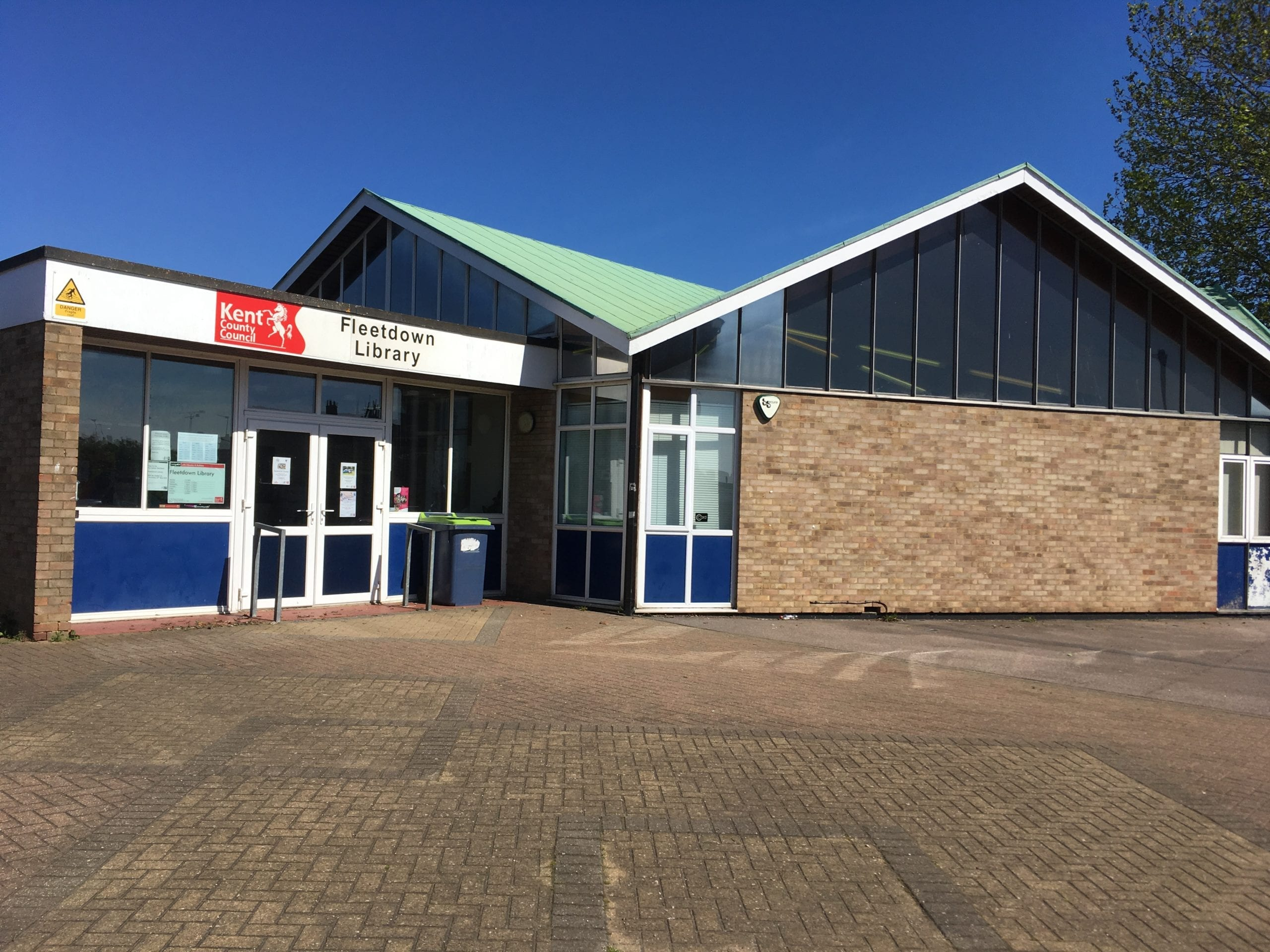 A photo of Fleetdown Library