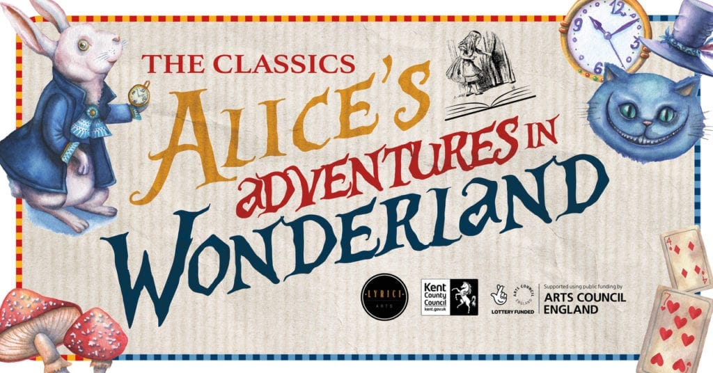 A post for 'The Classics: Alice's Adventures in Wonderland' event