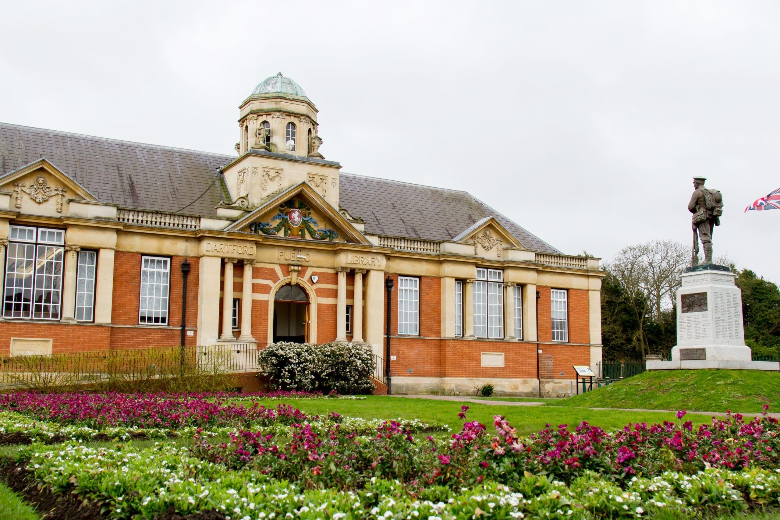 A photo of Dartford Library