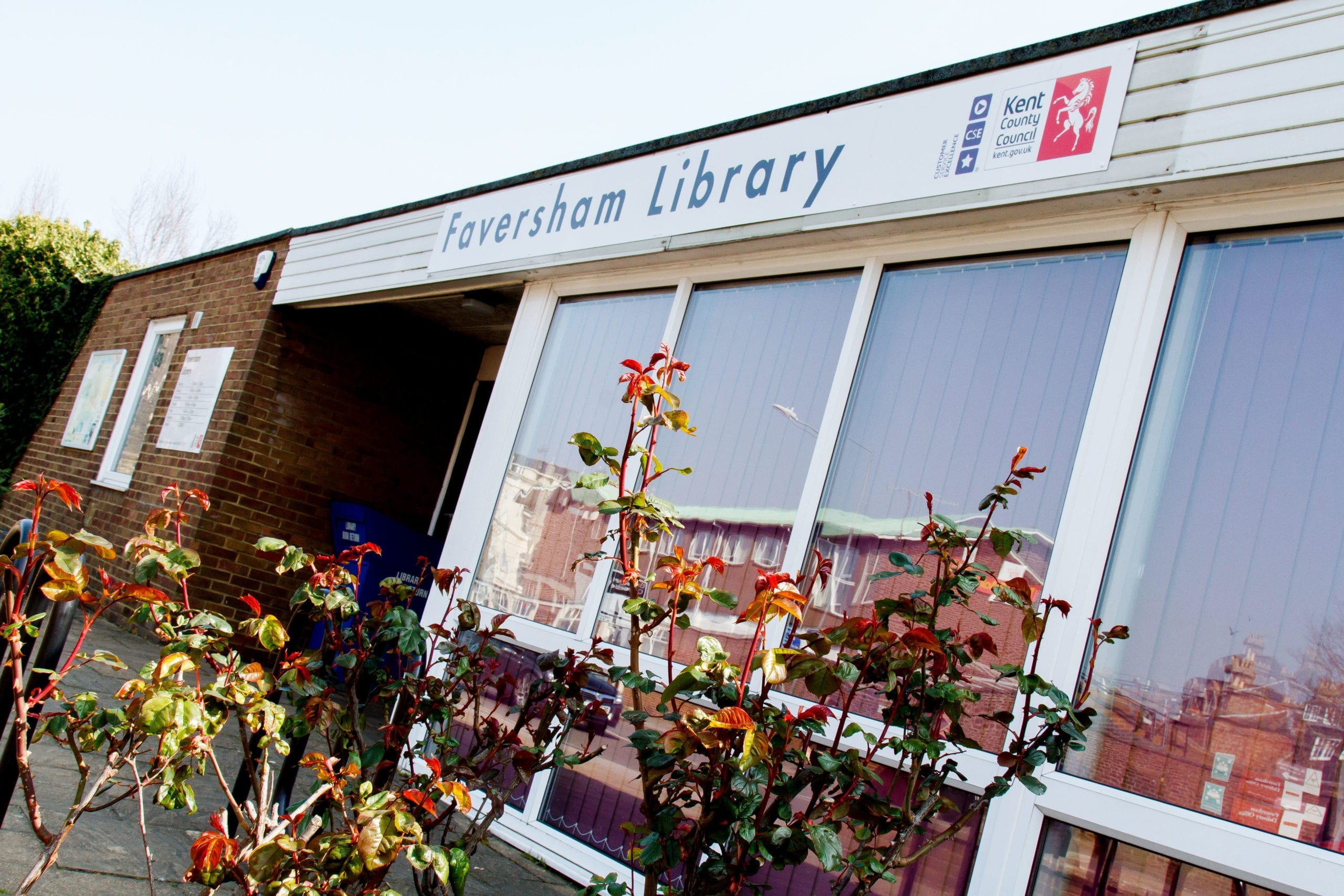 A photo of Faversham Library
