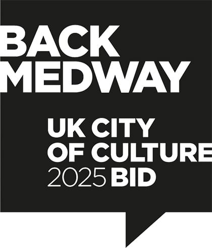 Back Medway UK City of Culture 2025 Logo