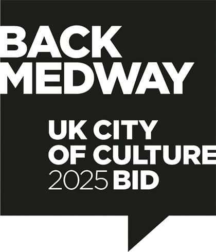 Back Medway UK City of Culture 2025 Logo